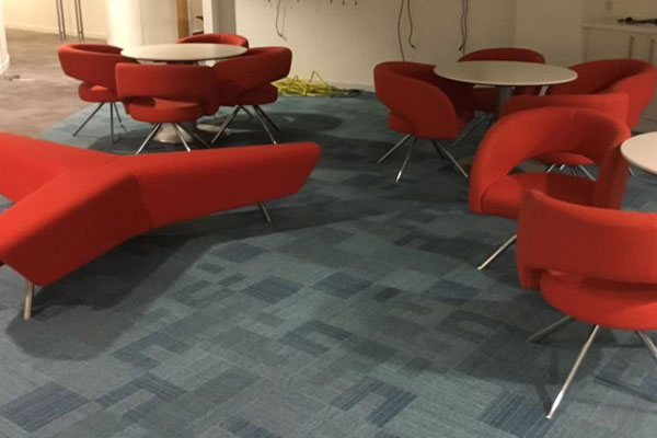 BOSS Designs Orange cloth reception/break out chairs New and  Used Office Furniture Wiltshire