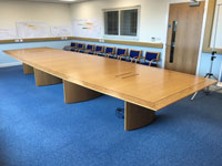 Refurbished 6.5 metre Boardroom Table