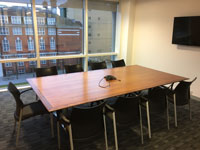 Walnut Veneer Boardroom Tables