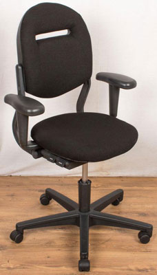 Used Black Cloth Ahrend 220 at New and  Used Office Furniture Wiltshire