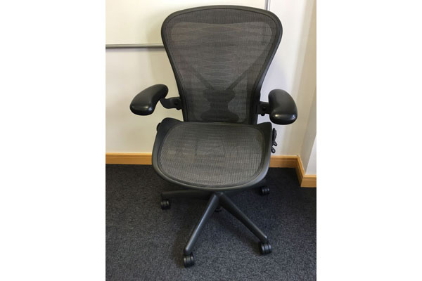 Used Herman Miller Aeron Size B Posturefit Chair New and  Used Office Furniture Wiltshire